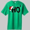 Ho Ho Ho Custom Graphics Shirts, Holiday Custom Tshirts, Custom Shirts Phoenix