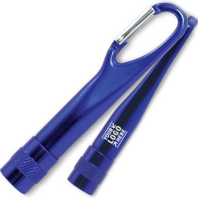 Slim Carabiner Flashlight, Flashlight, Promotional Flashlight, Custom Flashlight, Custom Promotional products, custom carabiners